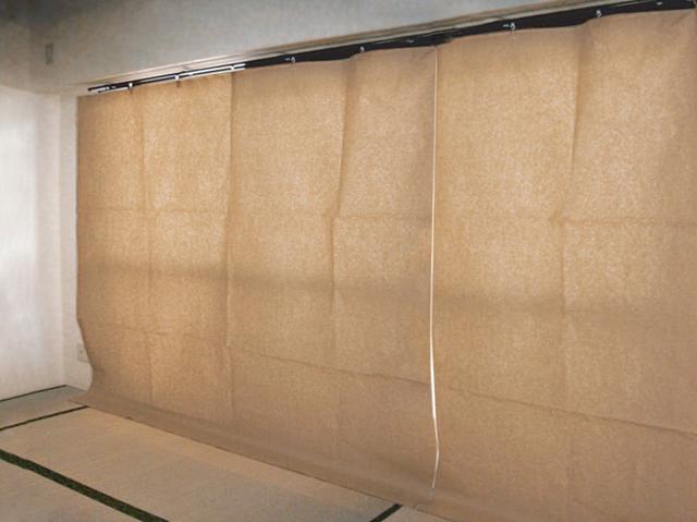 日除けクレープカーテン画像-3