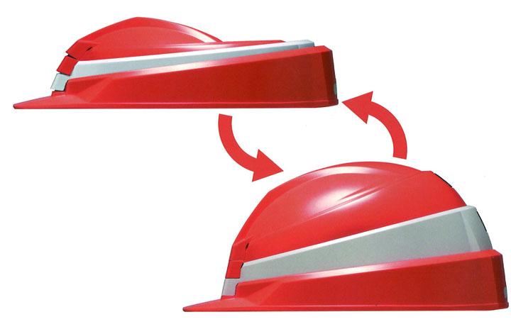 折りたたみ式ヘルメットIZANO MET画像-1